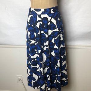 Banana Republic full floral skirt